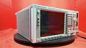 Rohde And Schwarz Fsp7 Spectrum Analyzer 9 Khz To 7 Ghz opt Fsp b9 Fsp b16