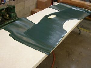 Nos Oem Ford 1960 1964 Galaxie Front Floor Mat Green Rubber 1961 1962 1963 500