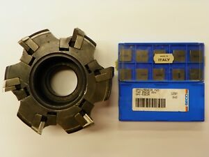 Sandvik ra285 2 125 25 15 Degree 5 0 Face Mill Spkn 1504 Carbide Insert B980