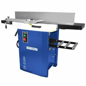 Rikon 25 210h 220 volt 12 inch Heavy Duty Planer Jointer W Helical Cutterhead