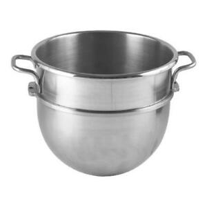 30 Qt Stainless Steel Mixer Bowl For Hobart Models
