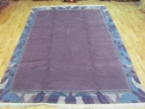 An Interesting Old Handmade Tibet Oriental Rug 253 X 174 Cm