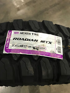4 New Lt 35 12 50 17 Lrf 12 Ply Nexen Roadian Mtx Mud Tires