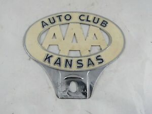Vintage Car Or Truck Aaa Auto Club Kansas Topper 1950 S