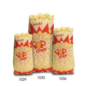 Paragon 1036 Popcorn Bags large 2 Oz