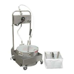 Miroil 55hs Hand Operated Fryer Oil Filter