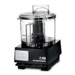 Waring Wfp11sw 2 5 Qt Food Processor With Liquilock Seal System