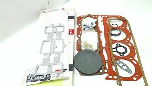 Cylinder Head Set Full Top End Gasket Gm Pontiac Buick Olds Cadillac 5 7 350 V 8