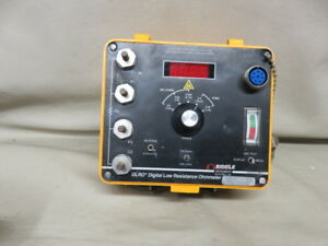 Biddle Dlro Digital Low Resistance Ohmmeter Detector Test Meter 247000 Untested
