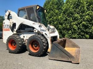 2001 Bobcat S175 Rubber Tire Skid Steer Loader Full Cab Diesel Wheel Bob Cat