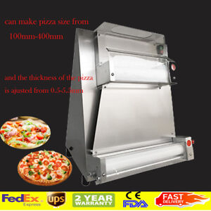 Steel Pizza Dough Roller Machine Pizza Making Machines Dough Sheeter Usas Stock