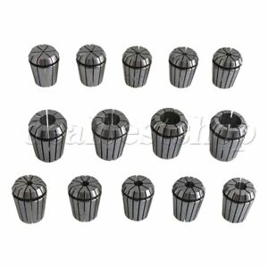14pcs Er32 Spring Collet Set Gripping Range 2mm 20mm For Router Engraver