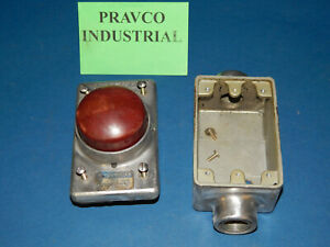 Micro Switch 2ph2 Red Palm Switch Push Button 1 2 5 3 4 75 Npt