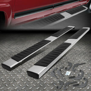 For 07 18 Chevy Silverado Gmc Sierra Crew Cab 6 Nerf Bar Running Board Side Step