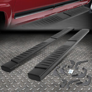 For 07 19 Chevy Silverado gmc Sierra Crew Cab Nerf Bar Running Boards Side Step