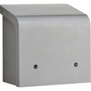 Reliance Nonmetallic Inlet Box 30 Amps pbn30