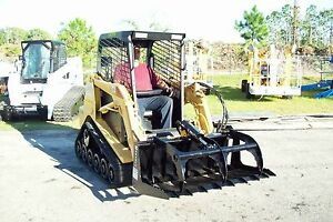 Terex Ro70t Loader Brush Grapple By Bradco 48 Wide american Made in Stock
