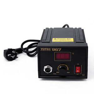 Iron Soldering Station Lcd Display Desoldering Electric Kit 110 265v 75w Smd