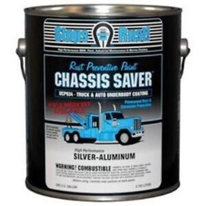Chassis Saver Paint Stops And Prevents Rust Sliver Aluminum 1 Gallon Can New