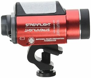 Streamlight 69157 Vantage Tactical Helmet Flashlight with White LED Red