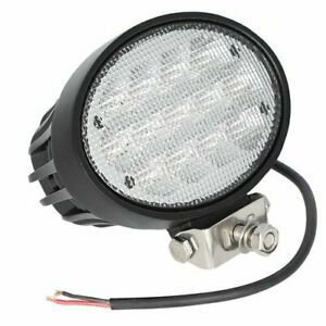 Led Work Light 65w Oval Hood Cab Mount Flood Beam John Deere 7720 Versatile