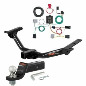 Curt Class 3 Trailer Hitch Loaded Ball Mount 2 Ball For Dodge Journey Sxt gt