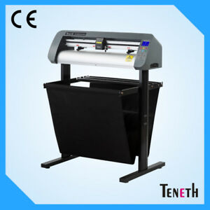 Teneth Vinyl Cutter Ts 740wax With Vinylmaster Cut