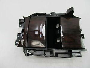 New Oem Gm 2015 Cadillac Escalade Wood Grain Center Console Cup Holder