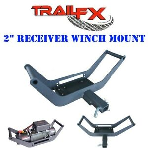 Wa018 Trail Fx Recovery Reciever Hitch Winch Mount Carrier