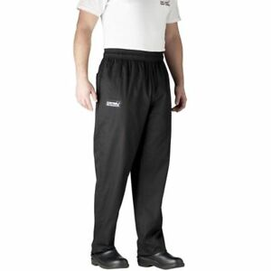 Chefwear 3500 30 X large Black Ultimate Chef Pants
