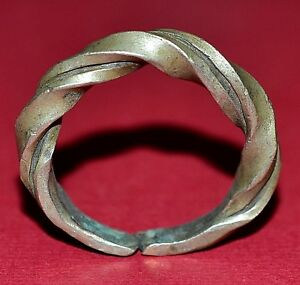 Antique African Tuareg Ethnic Metal Tribal Ring From Niger Africa Ring Size 14