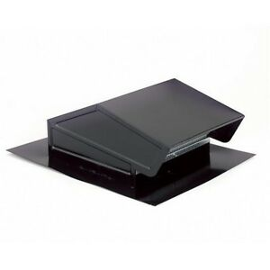 Broan Nutone Black Steel Roof Cap For 3 1 4 inch X 10 inch Or Up To 8 inch