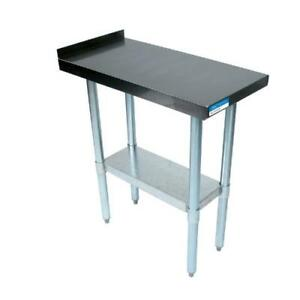 Bk Resources Vfts 1824 18 In X 24 In Stainless Steel Filler Table