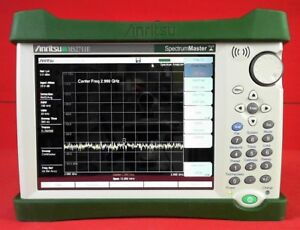 Anritsu Ms2711e 08 Handheld Spectrum Analyzer 100 Khz To 3 Ghz