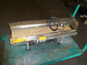 Small Offload 115v Conveyor 9x46