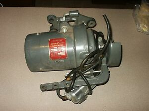 Vintage Consew Stk m2 Clutch Motor Industrial Sewing Machine Free Ship