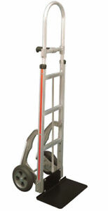 Magliner Hand Truck With Single Grip Handle 18 Steel Nose 10 Tire Glides