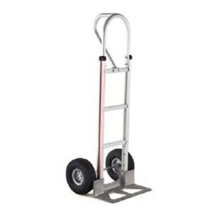 Magliner Hand Truck With Loop Handle 18 Nose 10 Air Tire 500 Cap