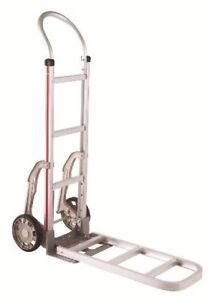 Magliner Hand Truck With Loop Handle 14 Nose 8 Tire Folding Nose Extension