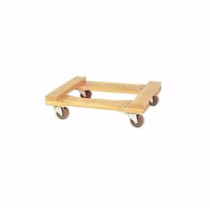 Oak Wood Piano Movers Dolly 18 W X 30 With Hard Rubber Wheels