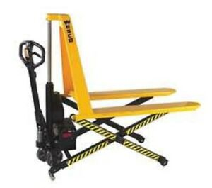 Stainless Electric Non telescoping Hi lift Pallet Truck Ntehl27 272461 27 x45 L