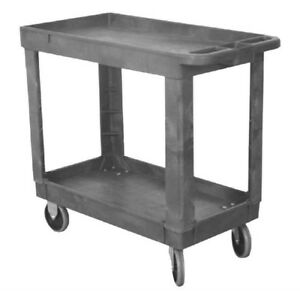 Molded Plastic Utility Cart Dollie 5 Tpr 330 Total Cap 16 x30 Brand