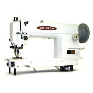 Consew 205rb 1 Walking Foot Top And Bottom Feed Upholstery Sewing Machine