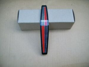 New 1965 Plymouth Belvedere Plastic Grille Medallion Red Black Silver