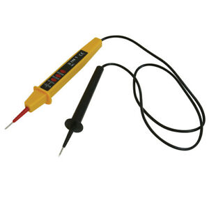 3 In 1 Voltage Tester For Mains Cable 110v To 500v Ac Electrical Electrician New