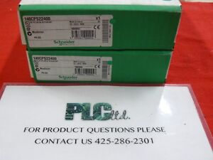 140cps22400 Modicon Factory Fresh New Sealed Pwr Sply 140 cps 224 00