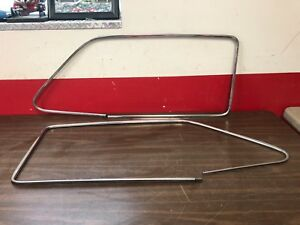 1949 51 Ford Coupe And 2 Door Rh And Lh Door Window Trim Pair Nos Ford 718