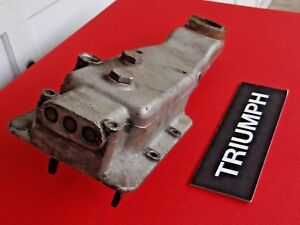 Triumph Tr3 Tr4 Transmission Gearbox Top Cover Od Dipstick Type And Shift Rods