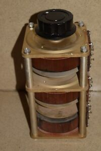 General Radio M5 Variac Autotransformer Stack Of Three b2