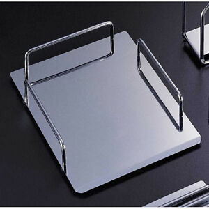Reflections Chrome finish Metal Document letter Tray Desk Assessory